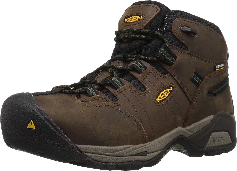 KEEN Utility Men's Detroit XT Waterproof Work Boot