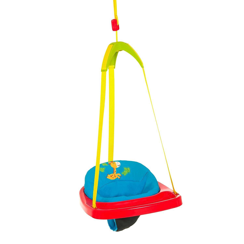 Hauck 64506 Jump Jungle Fun Türhopser blau, rot, gelbes Aufhängeband ...
