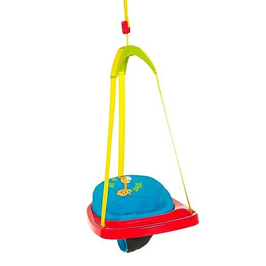 108 opinioni per Hauck Jump Jungle Fun Bouncer Blu, Rosso ,nastro di appensione giallo,