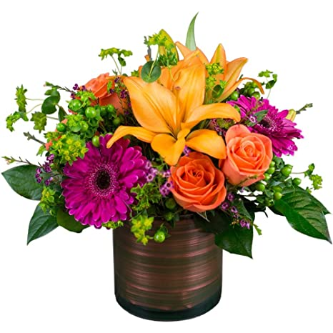 Amazon Tropical Fusion By Metro Florist Fresh Flowers Hand