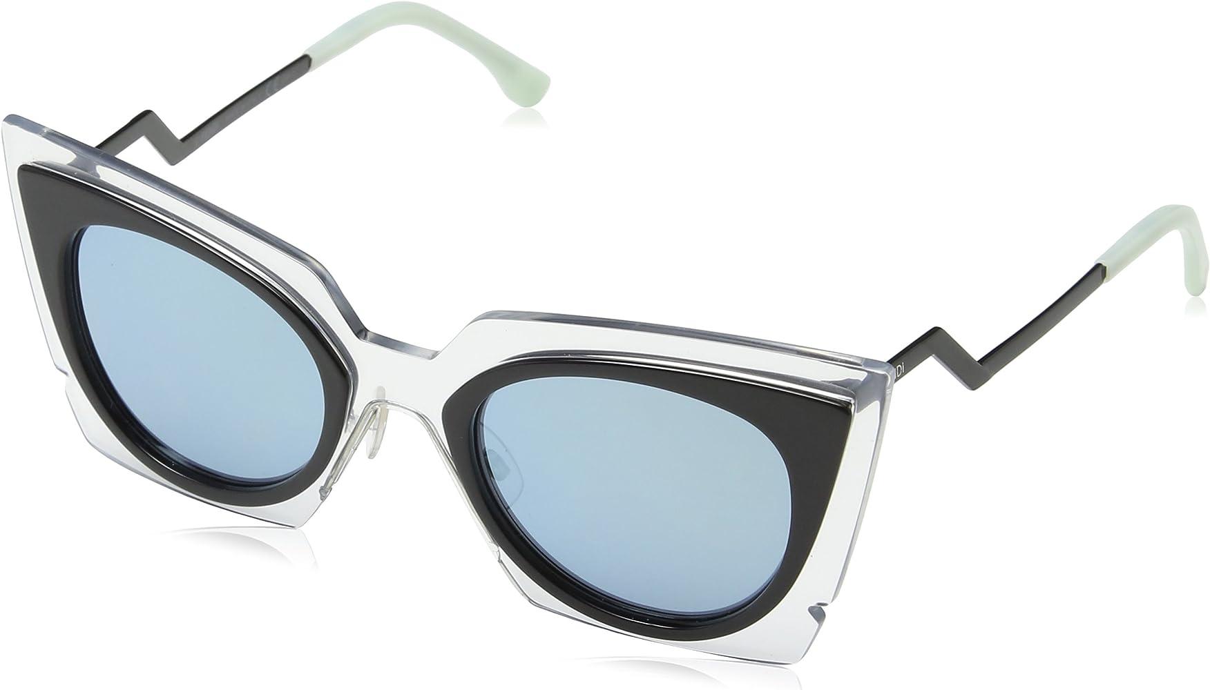 Fendi FF 0041/S 3U 9F4 Gafas de Sol, Gris (Dove Gry PD/Khaki ...