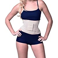 YIANNA Women Waist Trainer Belt Belly Sport Shaper Trimmer Sweat Training Girdle