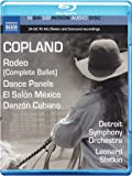 Copland: Rodeo, Dance Panels, El Salon Mexico, Danzon Cubano [Blu-Ray Audio]