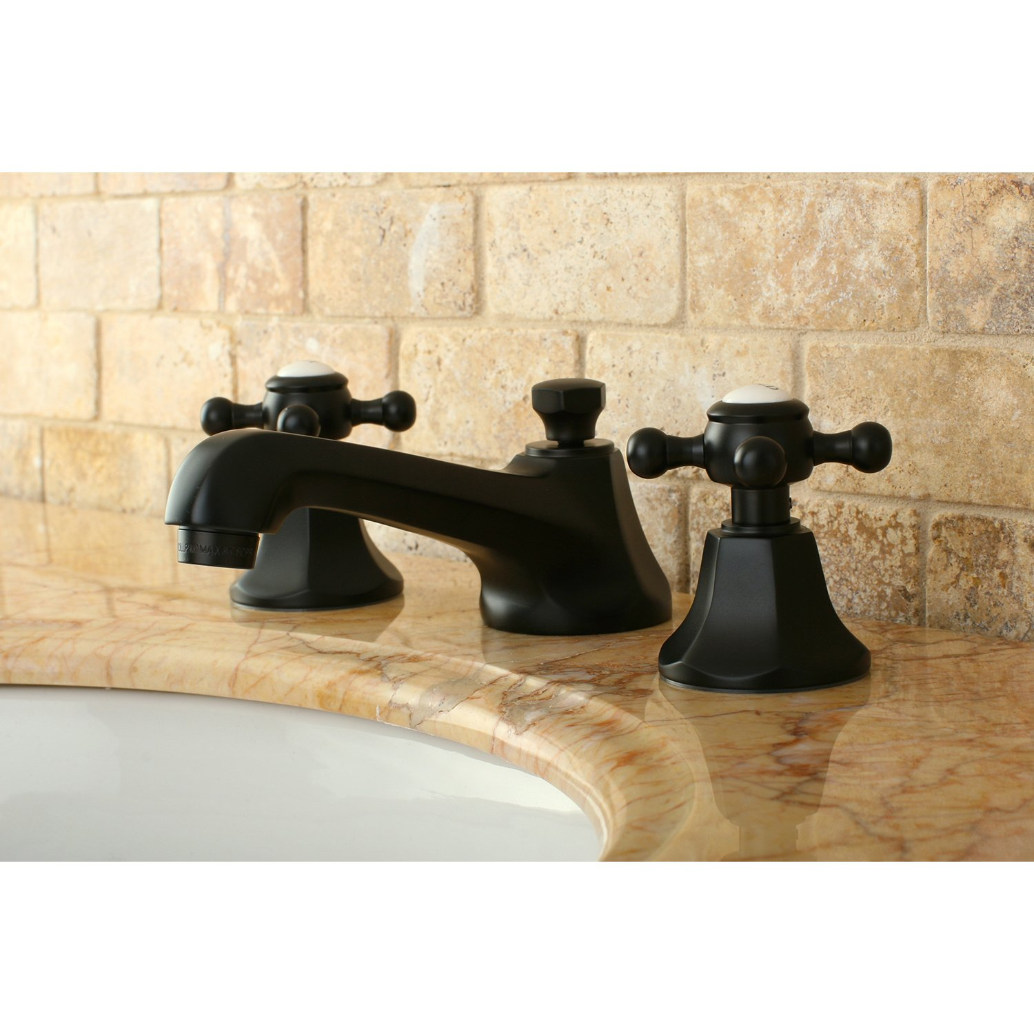 Kingston Brass KS4465BX Metropolitan Widespread Lavatory Faucet with ...