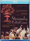 Stravinsky et les ballets russes le sacre du printemps. l'oiseau de feu [Blu-ray] [(+booklet)] [(+booklet)]