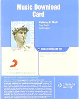 the essential listening to music with digital music downloads printed access card