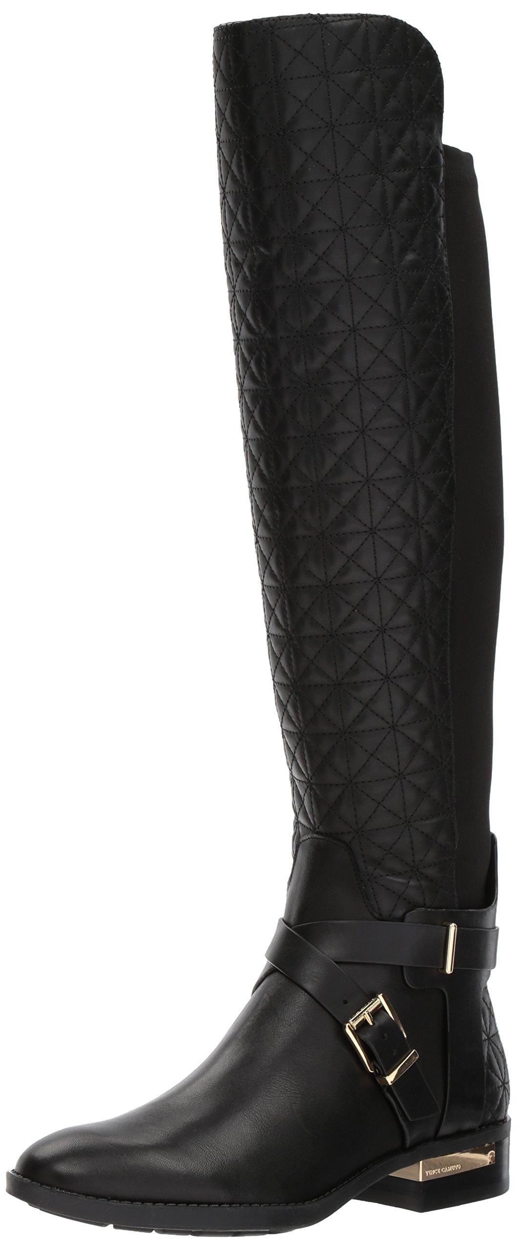 Vince Camuto Women's Patira Fashion Boot, Black, 9.5 Medium US