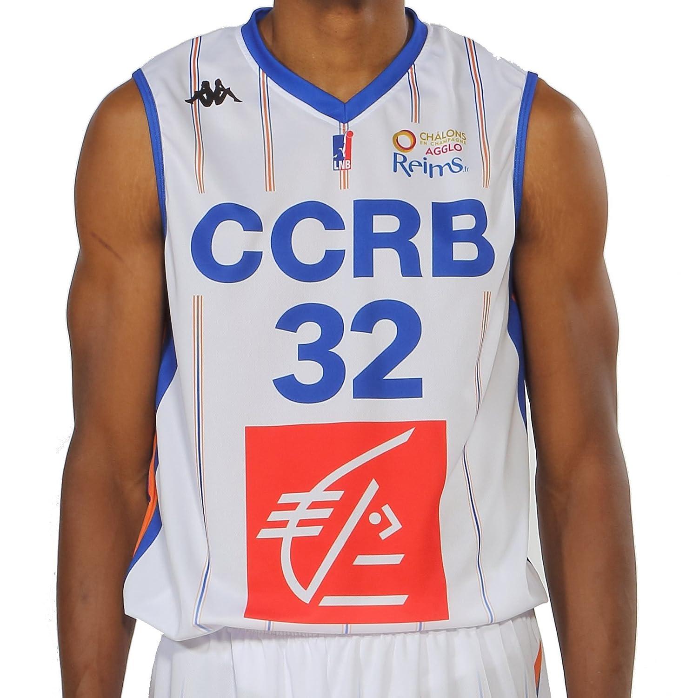 Kappa Baloncesto CCRB champán Chalons Reims réplica - Camiseta de ...