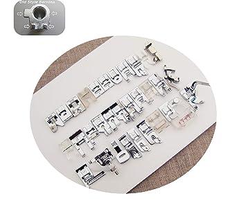 Bernina Jumbo Set para modelos # # 530 - 1630 máquinas de coser de estilo antiguo 31 pies + 2 Bonus más: Amazon.es: Juguetes y juegos