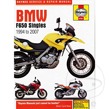 Amazon Com 01 07 Bmw F650gs Haynes Repair Manual Automotive