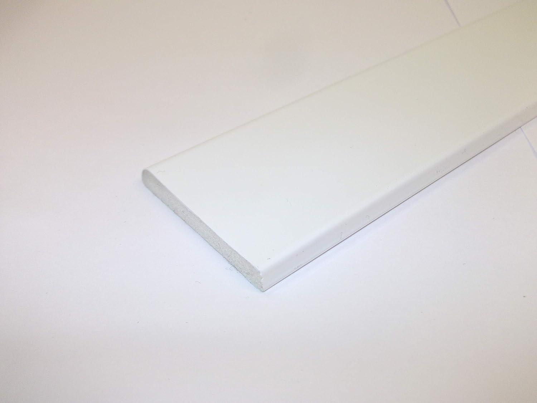 Window and Door Architrave Plastic Trim Black Ash 45mm 5 Metre