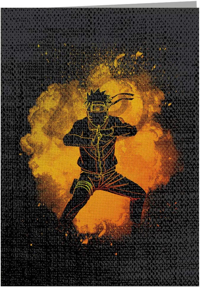 Soul of The Ninja Naruto Greeting Card