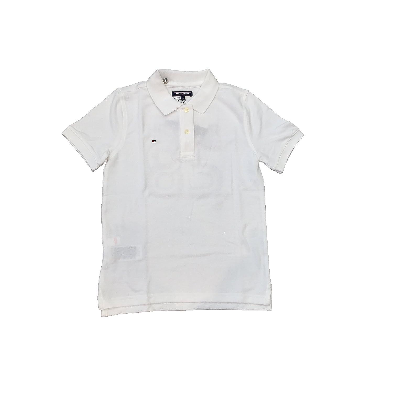 Tommy Hilfiger Polo Bold Global Blanco 14 Blanco: Amazon.es: Ropa ...