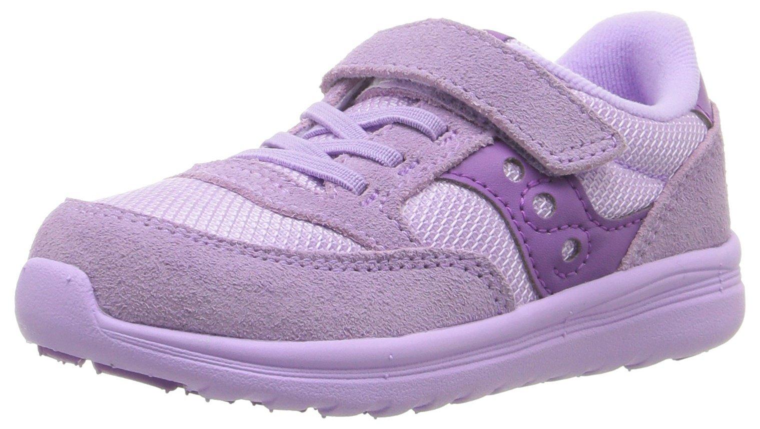 Saucony Baby Jazz Lite Sneaker (Toddler/Little Kid/Big Kid), Purple, 8.5 M US Toddler