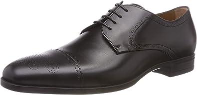TALLA 43 EU. BOSS Kensington_derb_lsct, Zapatos de Cordones Derby para Hombre