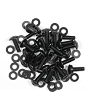Reliable Hardware Company RH-RMSET-25-A 25 Sets of Rack Rail Screws and Washers