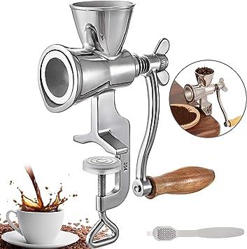 BuoQua Molinillo de Granos de Café de Acero Inoxidable Molino de ...