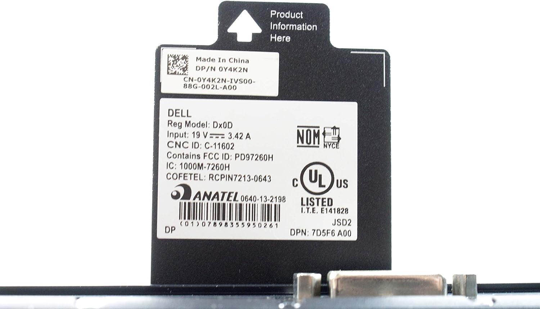 EbidDealz Thin Client DX0D 5010 AMD G-T48E 1.4GHz Processor 2GB RAM 8GB SSD OS ThinOS 8.5 Ethernet RJ45 Y4K2N