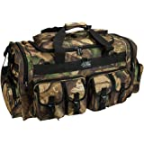 Mens 30 Inch Convertible Backpack Duffel Molle Tactical Shoulder Bag with Key Ring Carabiner