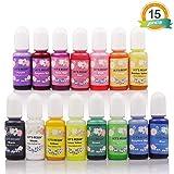 LET'S RESIN 15 Colors Epoxy Pigment, Translucent