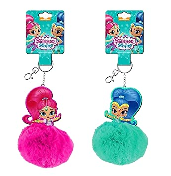 Shimmer and Shine keychain - random colour