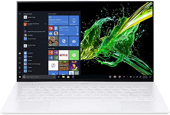 "Acer Swift 7 Thin & Lightweight Laptop 14"" FHD IPS Touch Display in a Thin .10"