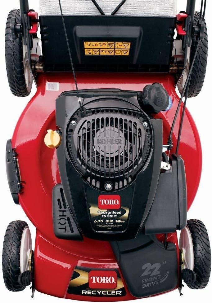 Toro 22 in High Wheel Variable Speed Gas Lawn Mower