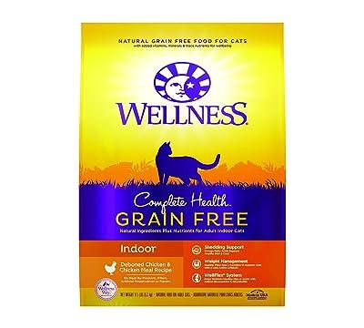 Wellness Natural Pet Food Complete Health Grain-Free Indoor Deboned Chicken Recipe Dry Cat Food