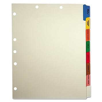 Amazon com tabbies 54505 medical chart divider sets side tab 9