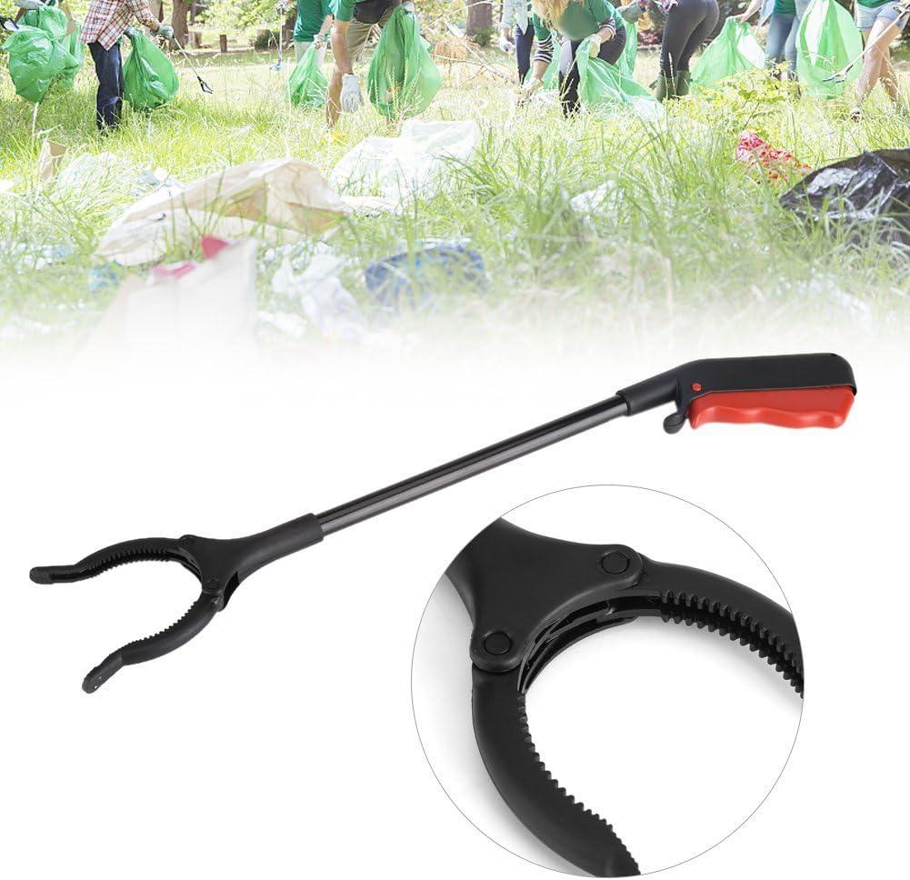 Garsent Magn/étique Liti/ère Grabber 45cm Long Bras Pince de Pr/éhension en Plastique Outil de Ramassage /à la Main L/éger pour Ramasse-D/échets.