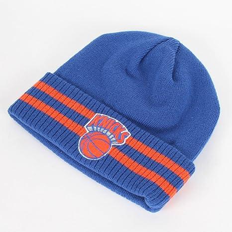 best website de8b4 decae ... closeout new york knicks mitchell ness nba vintage stockey stripe  cuffed knit hat ebf27 72454