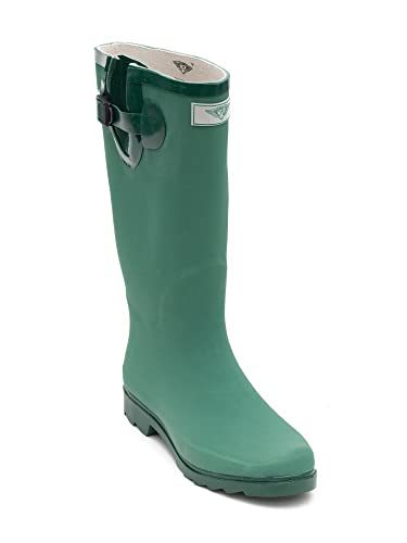 Amazon.com | Matte Green Water Proof Rain Boots | Rain Footwear