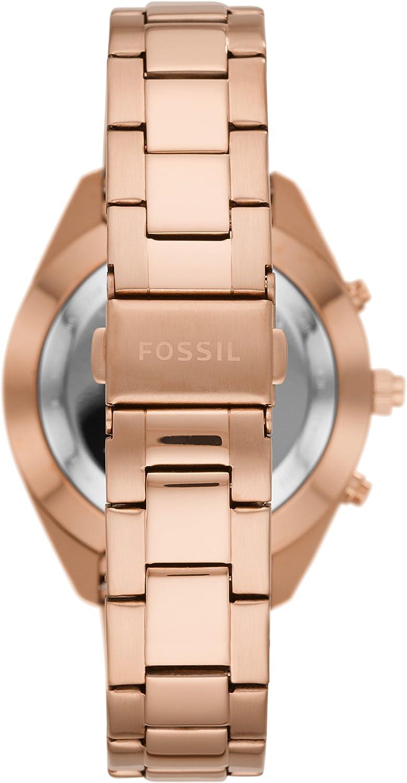 Amazon.com: Fossil Q mujer Alyx tono dorado rosa acero ...