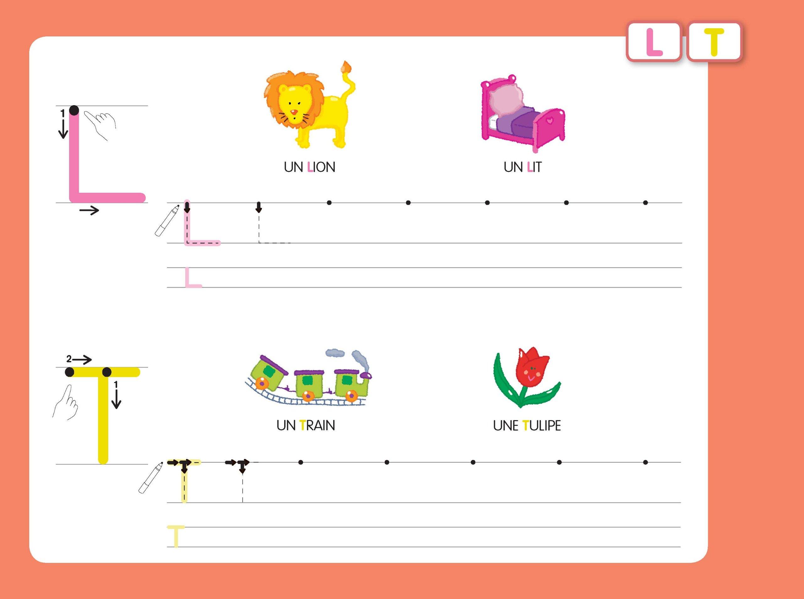 9ab9841442a Amazon.fr - Livres-ardoises - Mes premières majuscules bâton + 1 feutre 2  couleurs - Collectif - Livres