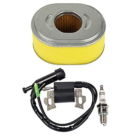 OxoxO - Filtro de aire repelente de encendido con bujía para Honda Gx110 Gx120 5.5hp