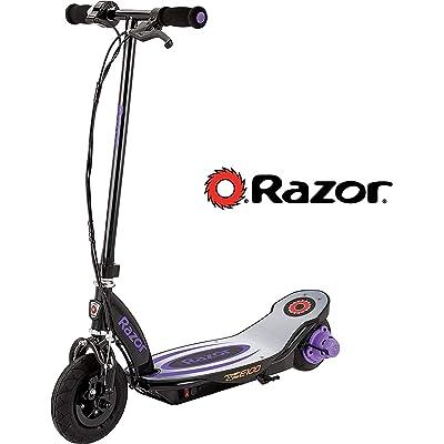 Razor Power Core E100 Electric Scooter - Aluminum Deck - Purple : Sports & Outdoors