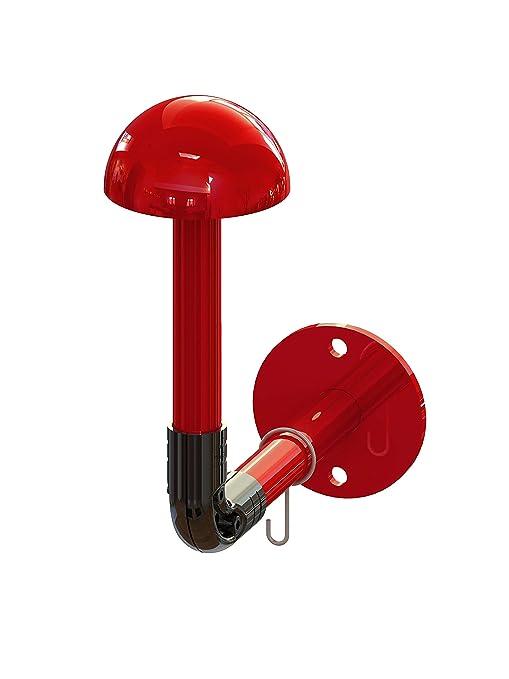THE LAB Portacasco bracky Mono Modular de Pared Color Rojo ...