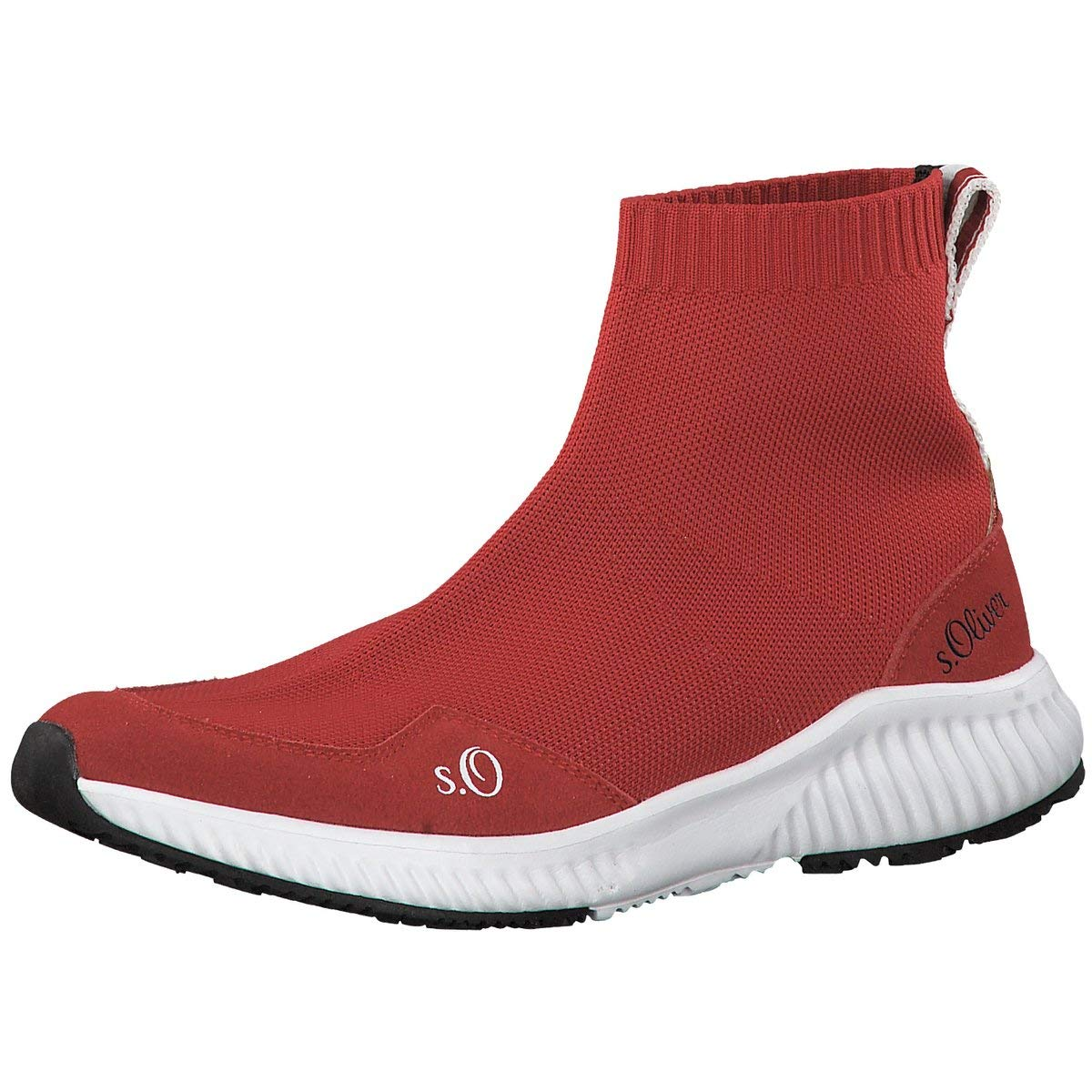 S.Oliver Damen Turnschuhe Woms Stiefel 5-5-25400-22 500 rot 604797