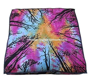 Amazon.com: The Art Box Large Indian Meditation Floor Pillow ...