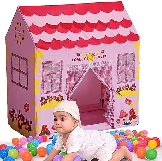 LaDicha Niñas Niños Princesa Rosa Juego Casa Jardín Tienda De Juguetes para Niños: Amazon.es: Hogar
