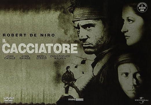 Il Cacciatore (Wide Pack Tin Box) (2 Dvd) [Italia]: Amazon.es: John Cazale, Robert De Niro, George Dzunda, Stanley Myers, John Savage, Meryl Streep, Christopher Walken, Michael Cimino, John Cazale, Robert De Niro: