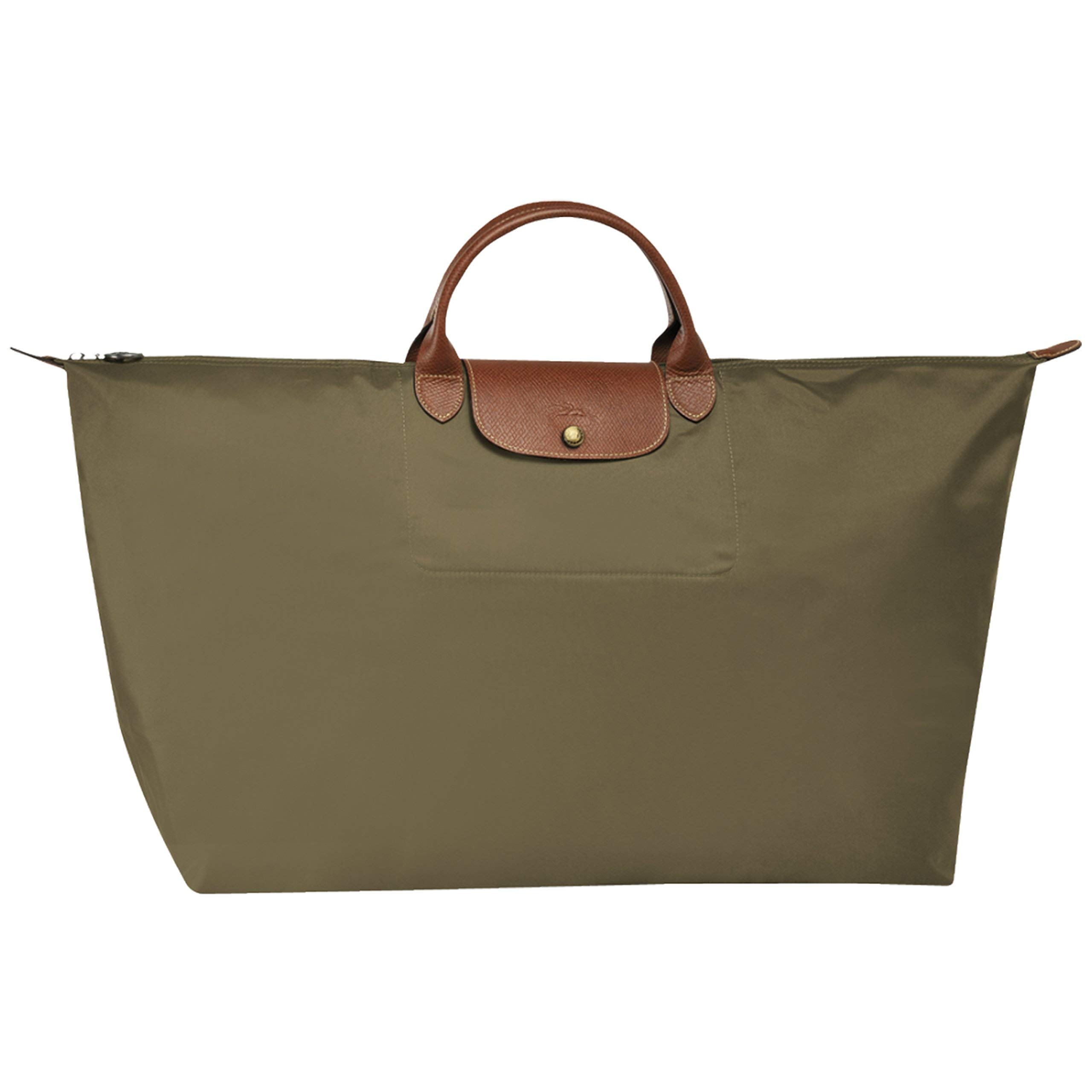 LONGCHAMP LE PLIAGES TRAVEL BAG XLARGE KHAKI