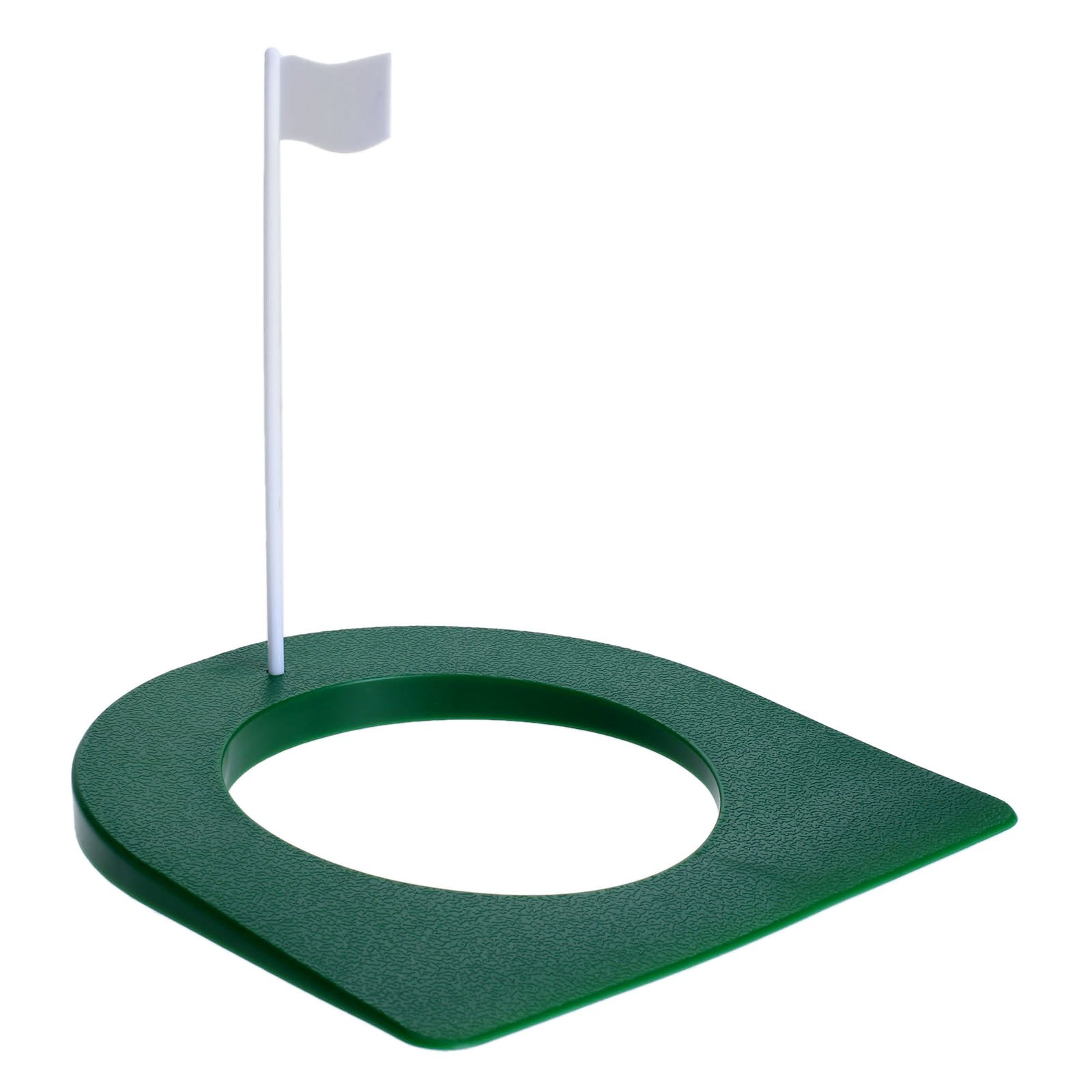 MUXSAM 2 Pcs Golf Putting Green Regulation Cup Hole Flag Indoor Practice Training Aids by MUXSAM