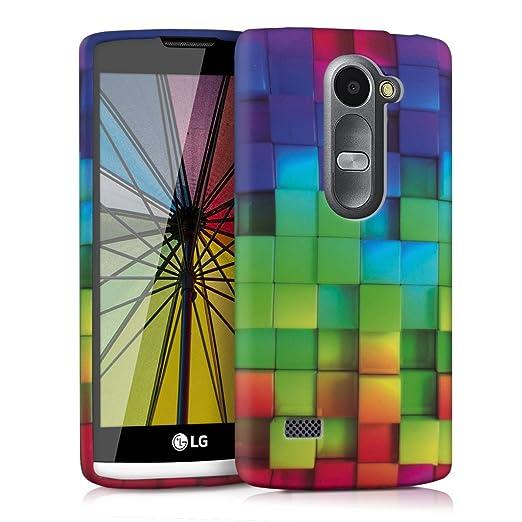 27 opinioni per kwmobile Cover per LG Leon 3G / 4G- Custodia in silicone TPU- Back case