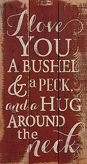 Amazon Com Elegant Signs I Love You A Bushel And A Peck Sign Hug