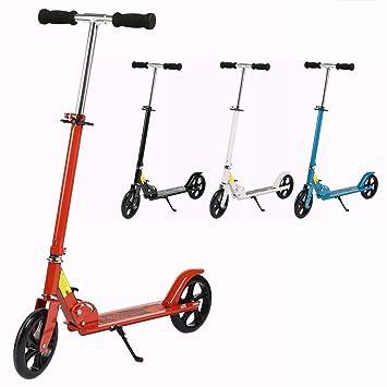 Befied Patinetes plegable para Adultos Adolescentes más de 12 años patineta de Aluminio scooter con Ruedas
