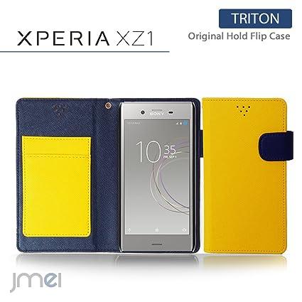 972b6560fc エクスペリア xz1 カバー 手帳 Xperia XZ1 ケース SO-01K SOV36 手帳型ケース おしゃれ TRITON
