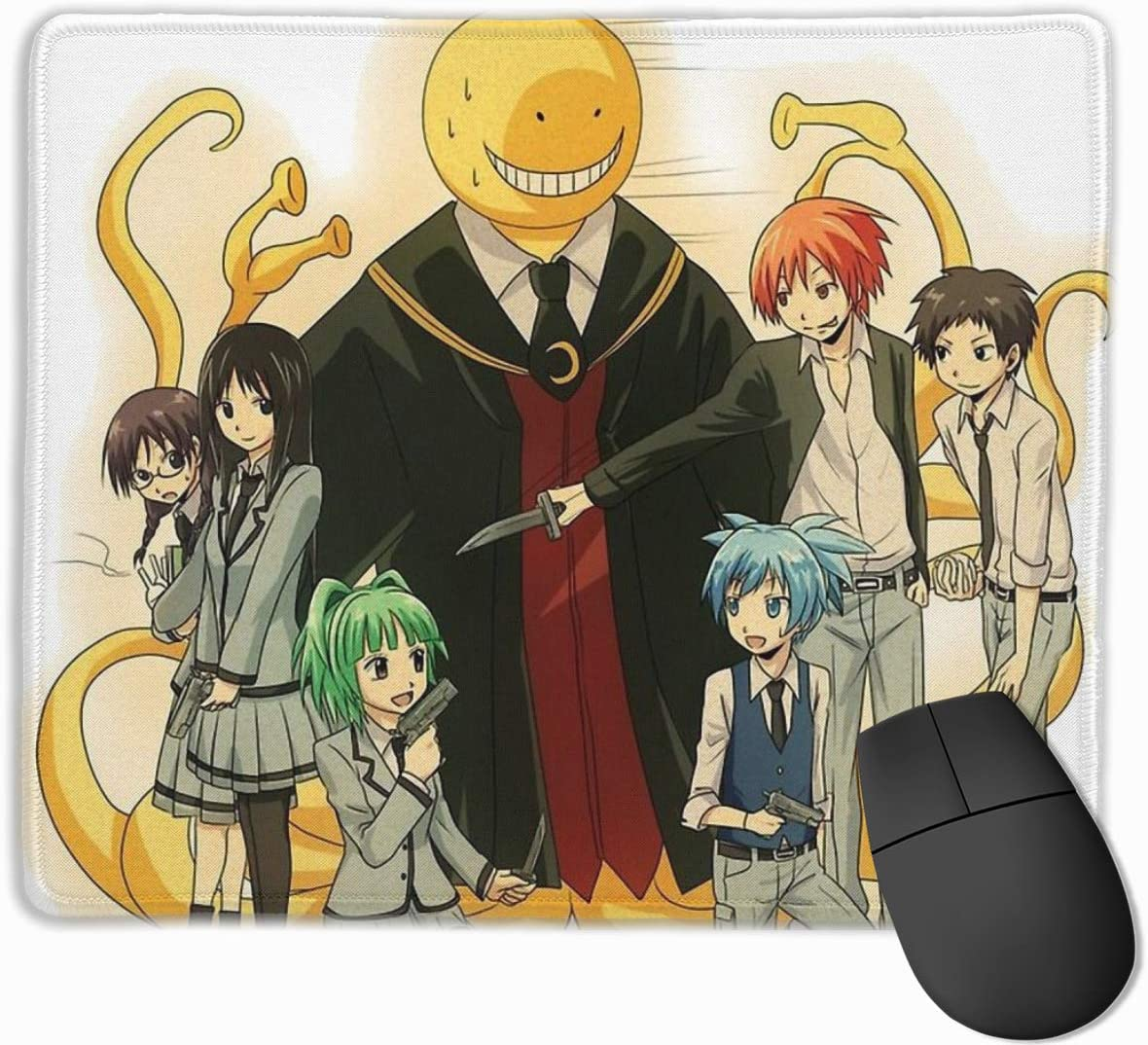 This is Fine Meme Dog Non-Slop Rubber Mousepad Gaming Mouse Pad with Stitched Edge 11.8x9.8