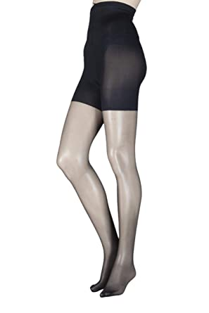 9e0b4fe24 Ladies 1 Pair Aristoc 10 Denier Hourglass Toner Tights  Amazon.co.uk ...