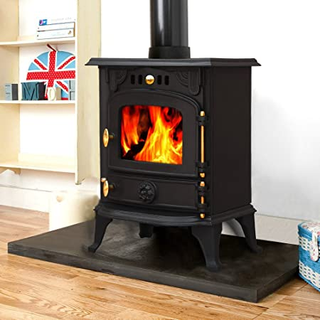 Lincsfire harmston ja013s 55kw multifuel stove clean burn wood lincsfire harmston ja013s 55kw multifuel stove clean burn wood burner log burning fire woodburning fireplace solutioingenieria Images